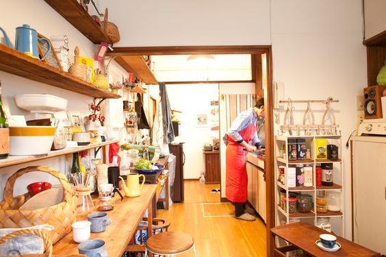 open shelf's