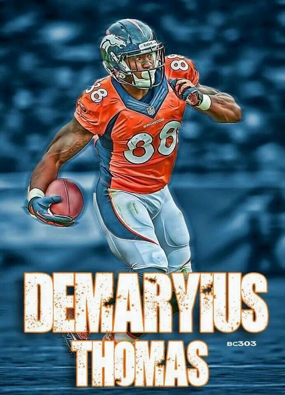 NFL Jersey's Pro Line Mens Denver Broncos Demaryius Thomas Big & Tall Team Color Jersey