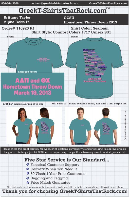 Alpha Delta Pi T-Shirts That Rock 116920proofR1 ...................................................WORK 1 ON 1 with a member of our design team until your T-Shirt ideas are perfect.... and ALWAYS them on in time (before you even need them) at the price you want! ...................................................................................................... JUST CLICK THIS IMAGE TO GET STARTED!