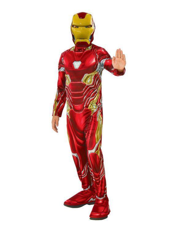 Marvel Avengers Infinity War Iron Man Boys Costume Iron Man Boy Costume Avengers Costumes Iron Man Halloween Costume
