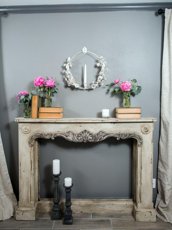 Fixer Upper Old World Charm For Newlyweds Fireplaces