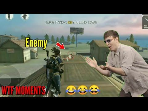 Free Fire Wtf Moments Part 6 Crazy Enemis Free Fire
