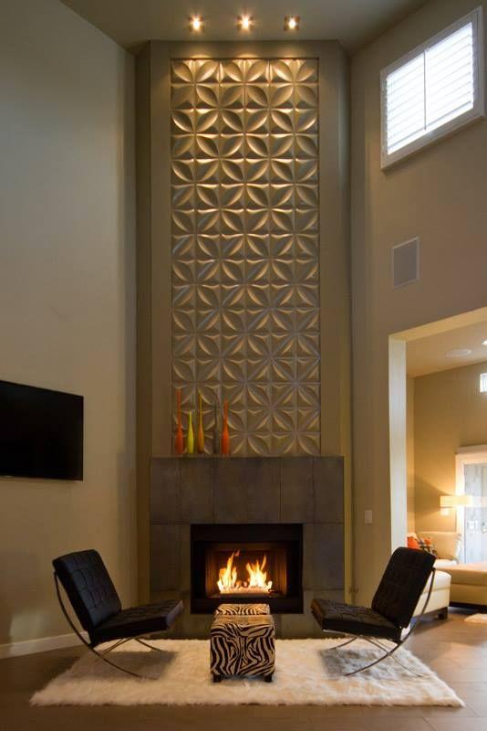 Chrysalis Wall Flats – 3D Wall Panels