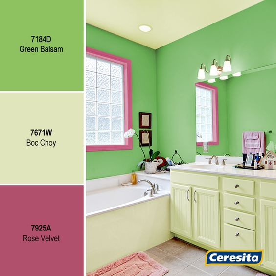 Ceresitacl #pinturasceresita #color #baños #pintura #decoración ...