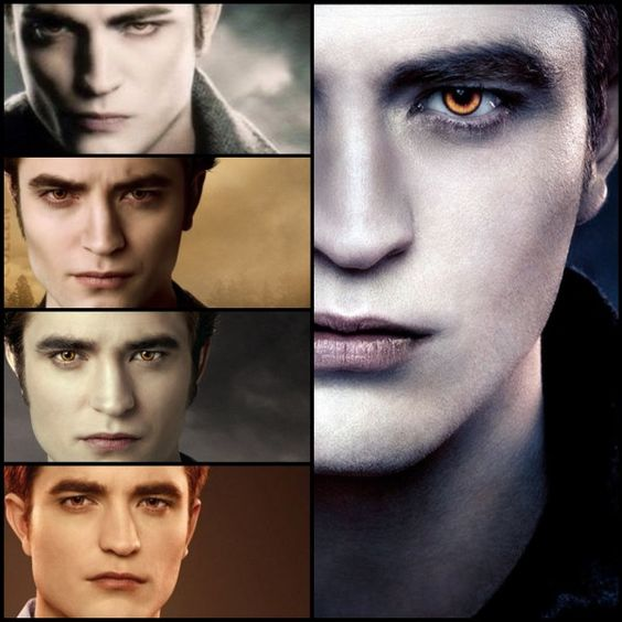 "<3 Edward From""Twilight To ""Breaking Dawn Part 2"" <3"