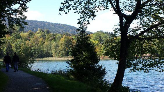 #Wandern in #Oberbayern am #Tegernsee an einem wundervollen Sonnentag im September