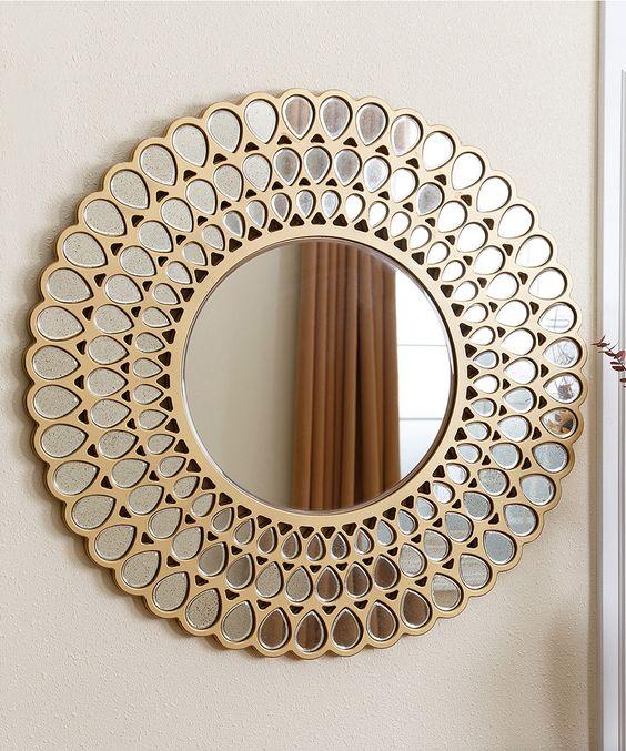 Look what I found on #zulily! Jaxon Round Wall Mirror by Abbyson Living #zulilyfinds