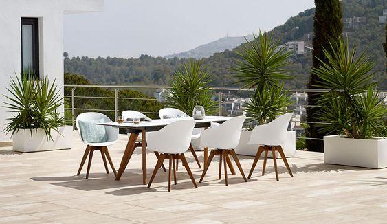 Muebles de diseño para exteriores - Calidad de BoConcept  Terraza  Pinteres...