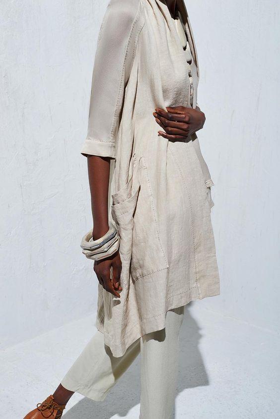 Cross Back Kimono Coat - Urban Zen: