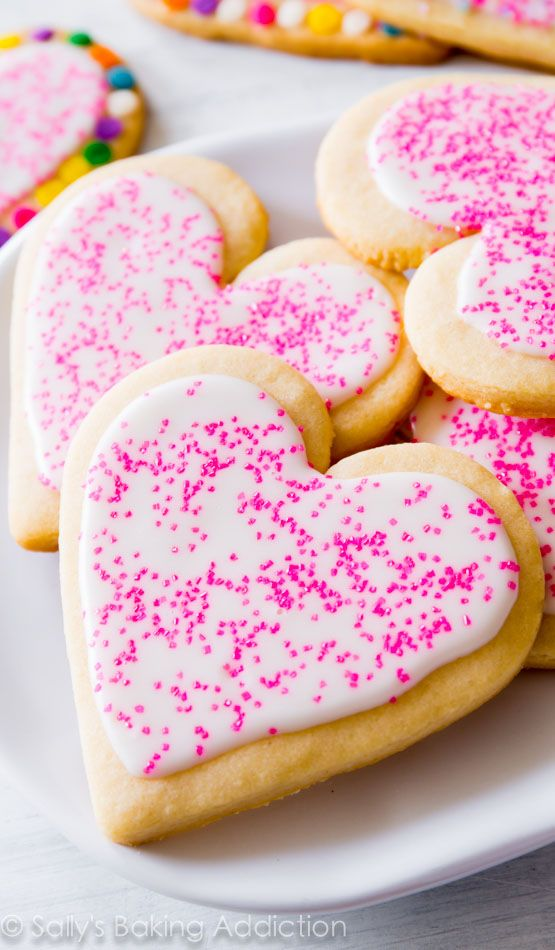 The BEST Cut-Out Sugar Cookies. Soft centers, slightly crisp edges, and room for lots of icing and sprinkles!