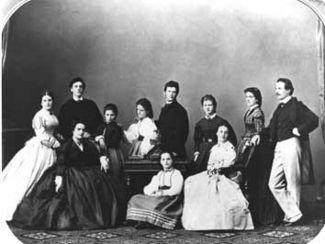 Karl Wittgenstein and family