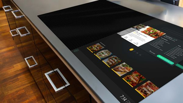 The futuristic Smart Stove fit with a UI can help…