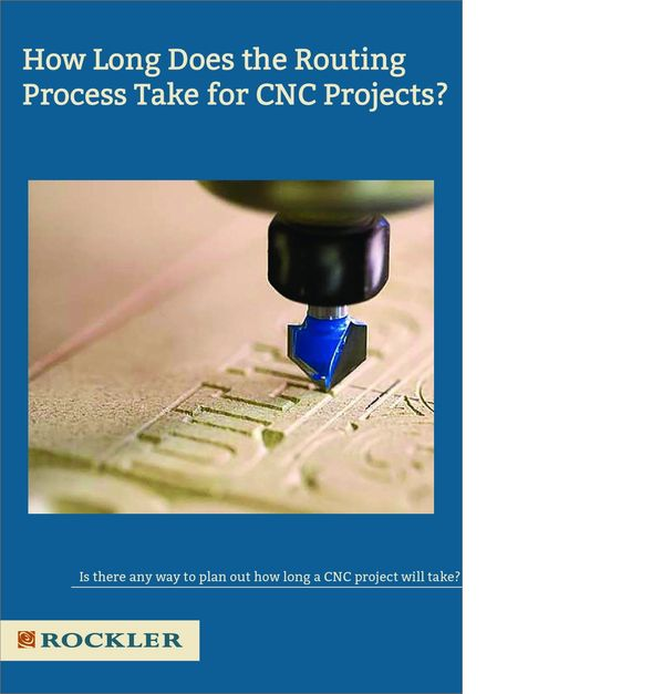 Is there any way to determine about how long a CNC project will take? Im mainly curious about the actual routing time, without computer work and finishing time. I know there are many variables. Ive watched videos on sign making, which have good information on the process, but I would like to know how long it took on the router itself. – Michael Byars #cnc #woodworking #workshop