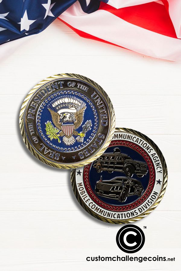 Want to learn more about the meaning behind the presidential coin? Check it out on our blog.