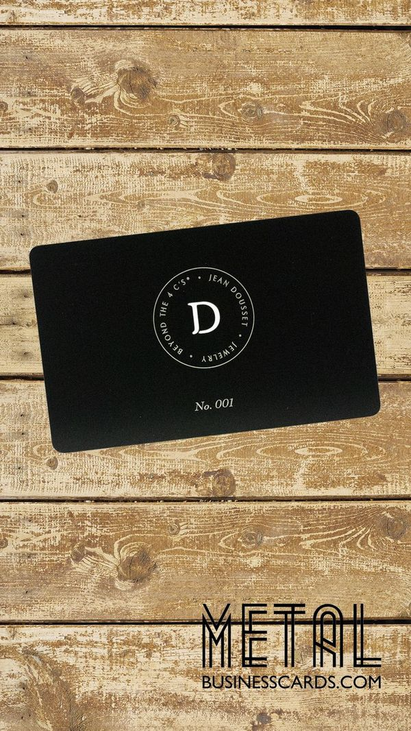 This minimalist yet elegant metal business card is a sure good impression to its recipients—a good boost to your profile as an entrepreneur. 😎 Get started with your metal business cards today!
