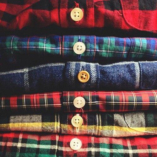 この秋、グランジも定番もイケるネルシャツが欲しい!