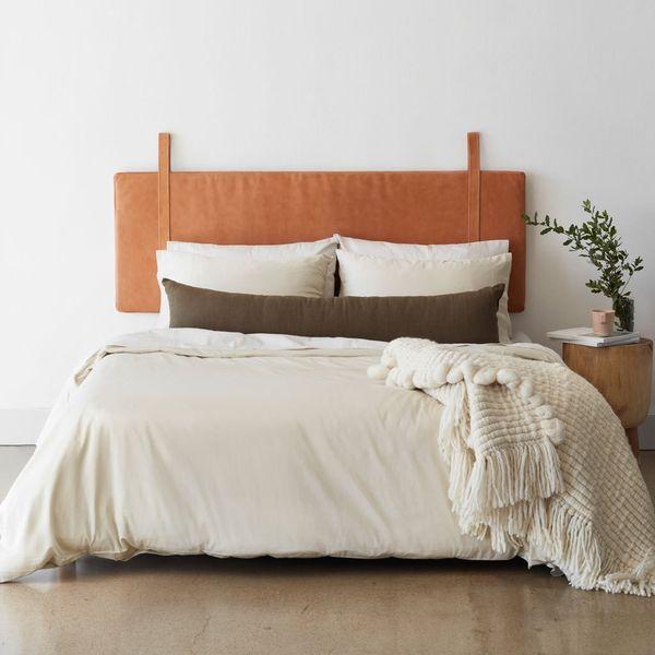 Prisha Linen Lumbar Pillow | The Citizenry