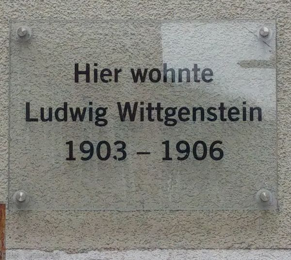 Memorial plaque for LW 15 Waltherstraße Linz, Austria. Credit: Thomas Phillipp.