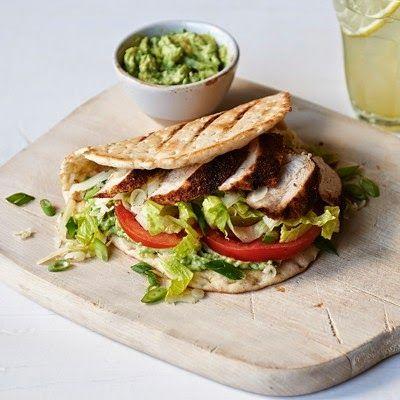 Panera Bread Restaurant Copycat Recipes: Mexican Chicken Flatbread