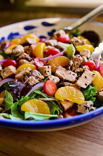 Bursting with color and flavor! This is a salad to make for company.