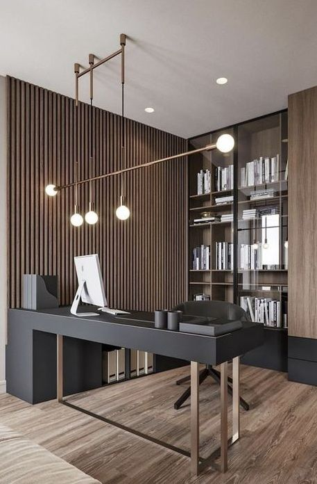 Cool Home Office Ideas for big rooms