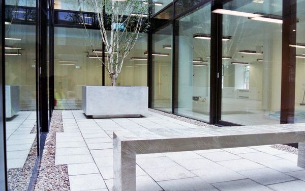 Campus Bespoke Aluminium Planter - from benchmark street furniture