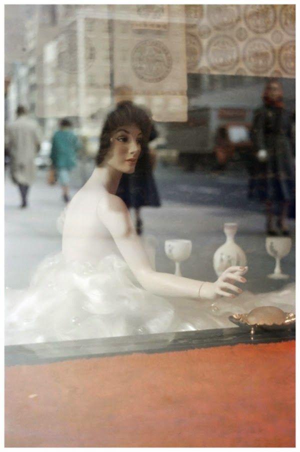 Art et glam: Saul Leiter, lun des pionniers de la photographie couleur