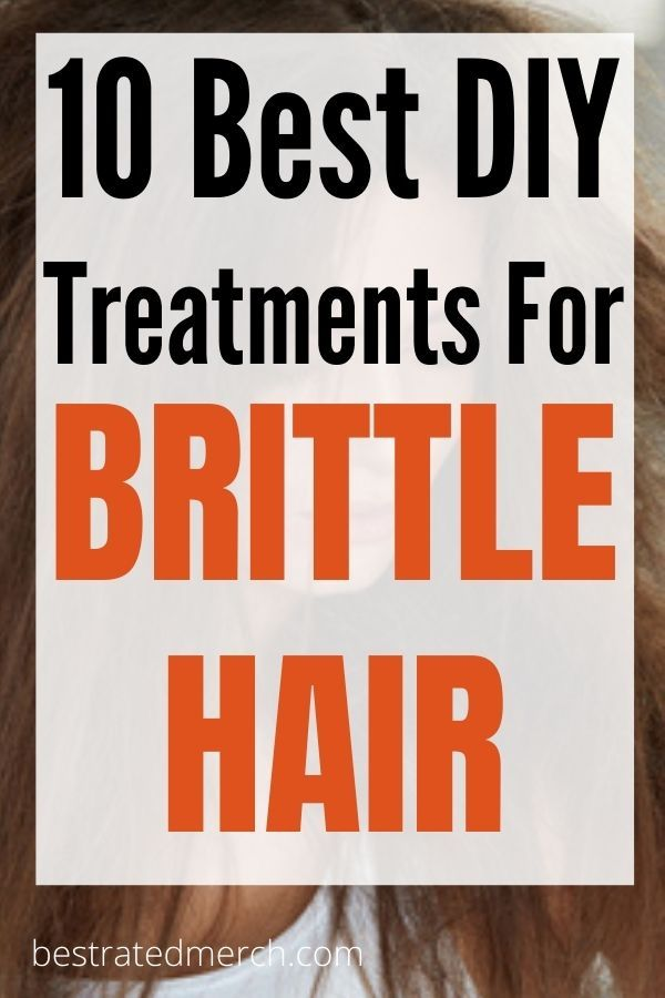 The 10 Best DIY Treatment For Brittle Dry Hair. At Home Hairca…