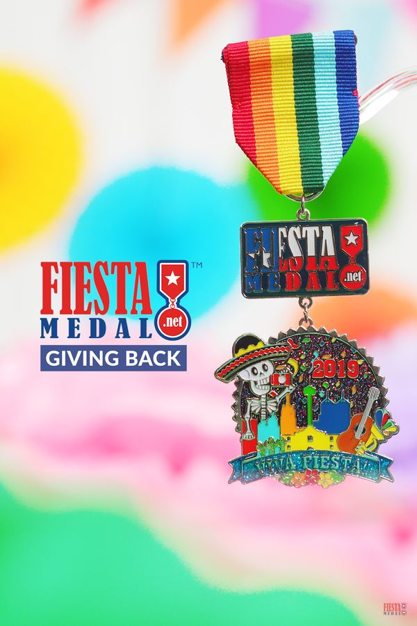 Fiesta is a party with a purpose, which is why we think its so important to give back each year!