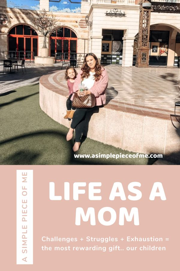 Sharing my challenges, struggles, the exhaustions, but also the amazing joys motherhood brings! Visit www.asimplepieceofme.com to read the full post! #motherhood #howtoraisekids #kids #momlife #mom #howtoraisegirls #momstruggle #howtoraisekindchildren #howtoraisekidsright #howtoraisekidsright #howtoraisekidsparenting #howtoraisekindkids #momstruggles #momstress #parentingdoneright #parenting #parentingkids #parentinggirls #parentingchildren