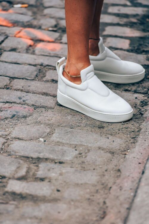 White Shoes With Platform Fall 2021