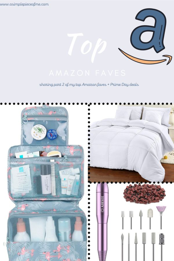 Sharing part 2 of my top Amazon faves and also Prime Day deals! Visit www.asimplepieceofme.com for all the details. #amazon #amazondeals #amazonfaves #primeday2020 #primeday
