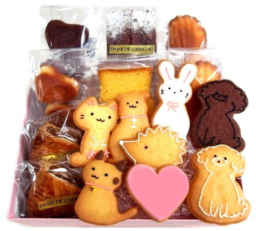 ダムドゥキャロー 動物クッキーと焼き菓子の詰合せ 16個入り パティスリー ダム・ドゥ・キャロー http://www.amazon.co.jp/dp/B004DZQZGG/ref=cm_sw_r_pi_dp_3g8jvb18TXN4D