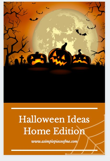 Sharing ways to still be able to celebrate Halloween and make it fun. Visit www.asimplepieceofme.com for all the details. #halloween #halloween2020 #halloweensuggestions