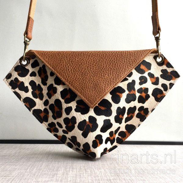 Leopard print belt bag / leopard print fanny pack / crossbody bag