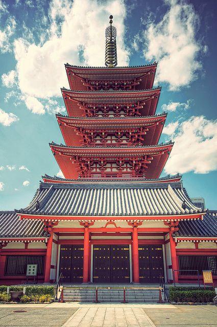 Gojūnoto of Asakusa Kannon Temple