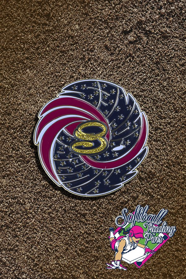Add some glitter to your next set of trading pins and put a huge smile on their faces!