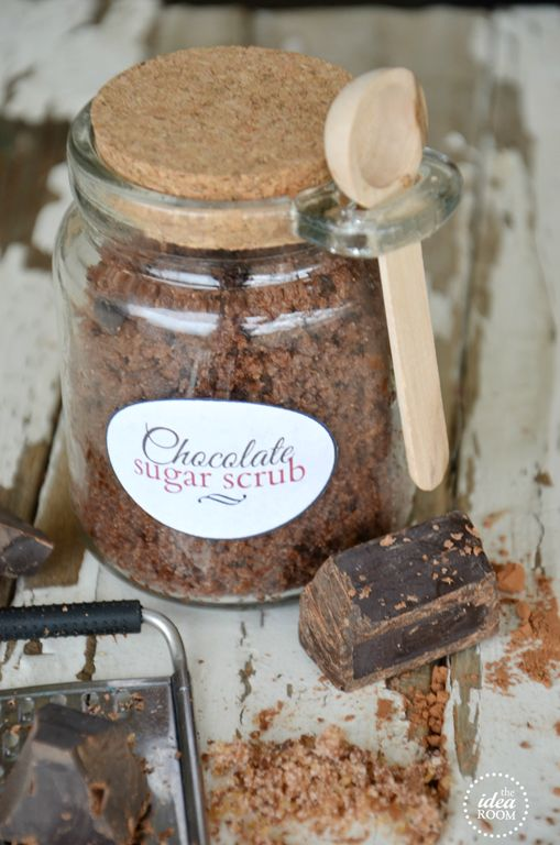 Chocolate Sugar Scrub Recipe - The Idea Room