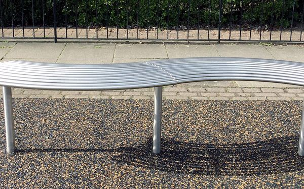 stainless steel bench- From benchmark street furniture