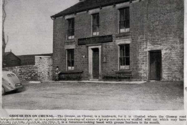 The Grouse Inn on Chunal, Glossop Road