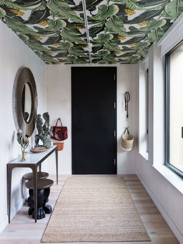 Just Because It's Called Wallpaper Doesn't Mean It Can't Go on Your Ceilings