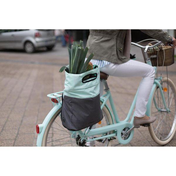 Fietstas boodschappen 900 aan €36. Ontworpen voor: wie zijn spullen van elke dag en een laptop op de fiets of te voet wil vervoeren. Gratis levering !