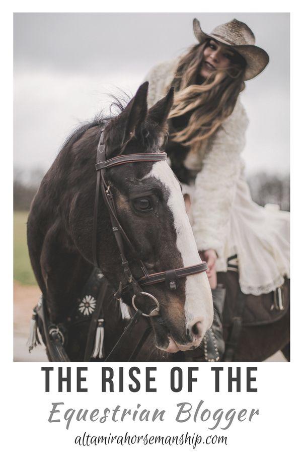 The Equestrian Blogging community has a powerful i…