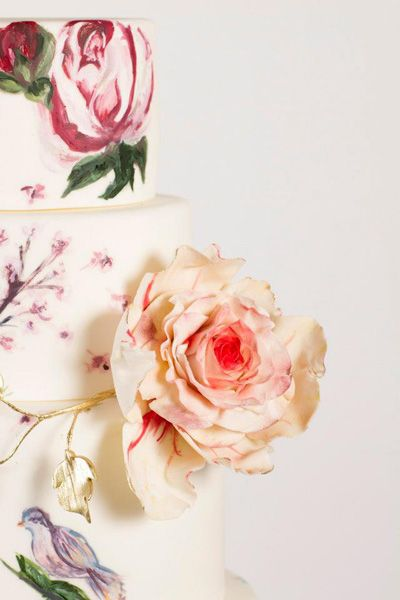 Nadia & Co. Art & Pastry | Secret Garden | Botanical Cake Design |