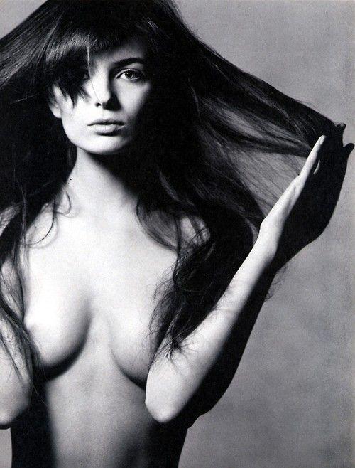 pinterest.com/fra411 #beauty - Paulina Porizkova by Irving Penn (1986)