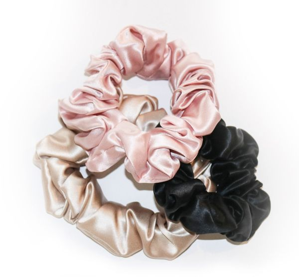 Mothers Day gift guide - Silk scrunchies