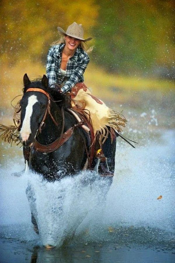 Both are Enjoying a Splendid Ride across the Water…