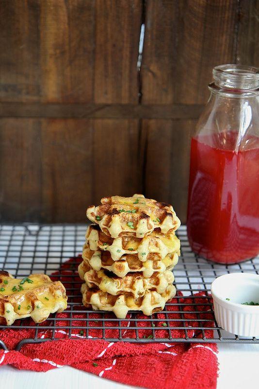 Mashed Potato Waffles   Community Post: 21 Ways You Can Take Mashed Potatoes To The Next Level