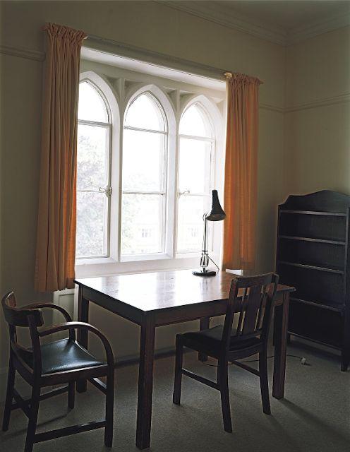 Ludwig Wittgensteins room, Whewells Court, Trinity College, Cambridge.