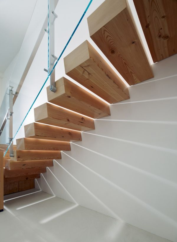 Guarda-corpo da escada. Oficinas de Buck O'Neill Builders / Jones | Haydu (5)